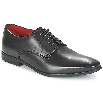 Schoenen Heren Derby Base London GEORGES Zwart