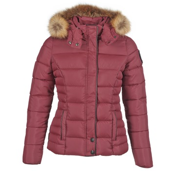 Textiel Dames Dons gevoerde jassen Kaporal MINKA Bordeau