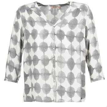Textiel Dames Overhemden DDP GOSA Taupe / Ecru