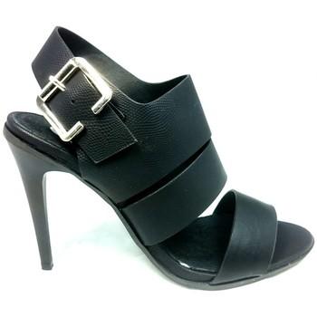 Schoenen Dames Sandalen / Open schoenen Cassis Côte d'Azur Sandales Talons Hauts Beltaine Noir Zwart