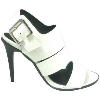 Schoenen Dames Sandalen / Open schoenen Cassis Côte d'Azur Sandales Talons Hauts Beltaine Blanc Wit