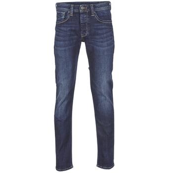 Textiel Heren Straight jeans Pepe jeans CASH Z45 / Blauw / Donker