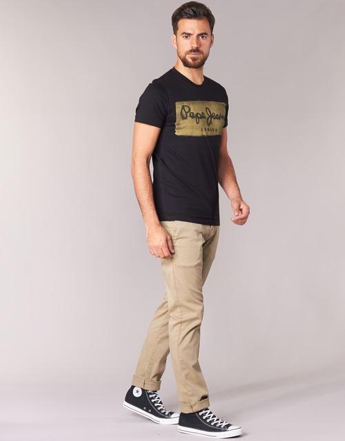 Pepe Jeans Charing Zwart - Gratis Levering gF0Hg7