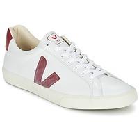 Schoenen Lage sneakers Veja ESPLAR Wit / Rood