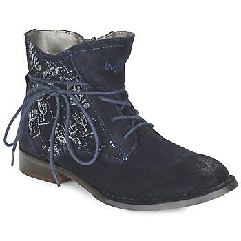 Schoenen Dames Laarzen Bugatti LEEALE Marine
