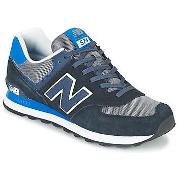 Schoenen Heren Lage sneakers New Balance ML574 Blauw / Zwart