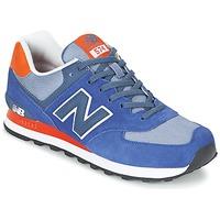 Schoenen Lage sneakers New Balance ML574 Marine / OranJe