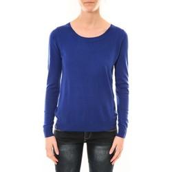 Textiel Dames Truien Nina Rocca Pull MC7033 bleu Blauw