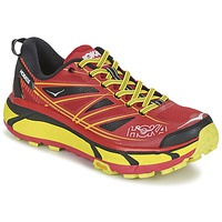 Schoenen Heren Running / trail Hoka one one MAFATE SPEED 2 Rood / Citron