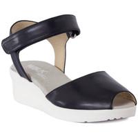 Schoenen Dames Sandalen / Open schoenen Melluso SANDALO ARC NOTTE Blu