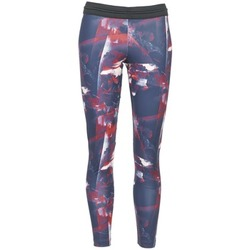 Textiel Dames Leggings adidas Originals FLOWER TIGHT Blauw / Roze