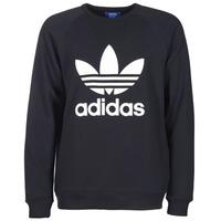 Textiel Heren Sweaters / Sweatshirts adidas Originals TREFOIL CREW Zwart