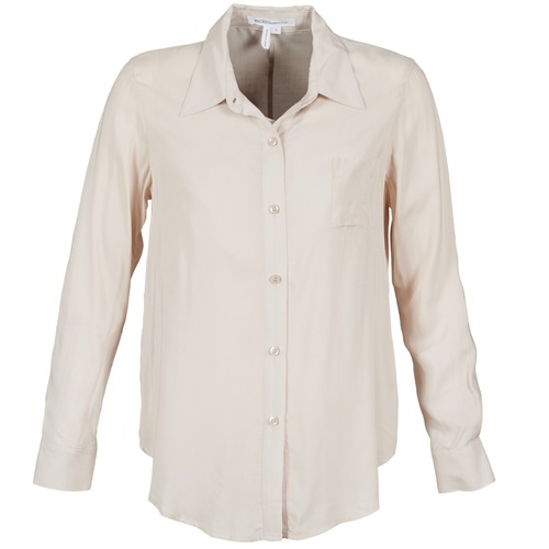 Textiel Dames Overhemden BCBGeneration 616747 Beige
