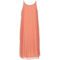 Textiel Dames Lange jurken BCBGeneration 616757 Koraal