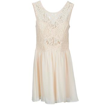 Textiel Dames Korte jurken BCBGeneration 617574 Beige