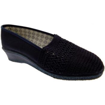 Schoenen Dames Sloffen Davema DAV212bl blu