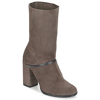 Schoenen Dames Hoge laarzen Castaner CAMILA Bruin