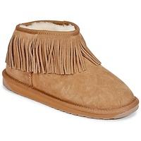 Schoenen Dames Laarzen EMU WATERFALL Kastanjebruin