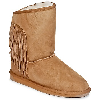 Schoenen Dames Laarzen EMU WOODSTOCK Kastanjebruin