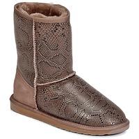 Schoenen Dames Laarzen EMU STINGER PRINT LO Bruin