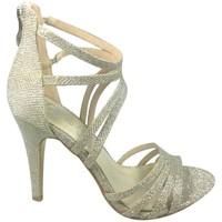 Schoenen Dames Sandalen / Open schoenen Cassis Côte d'Azur Sandales Multibrides Ouvert Oria Argent Zilver