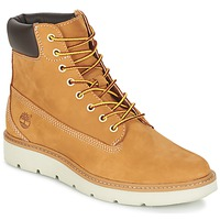 Schoenen Dames Hoge sneakers Timberland KENNISTON 6IN LACE UP Beige