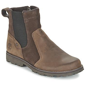 Schoenen Kinderen Laarzen Timberland ASPHALT TRAIL CHELSEA Bruin