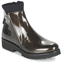 Schoenen Dames Laarzen Regard REJABI Brons / Lak