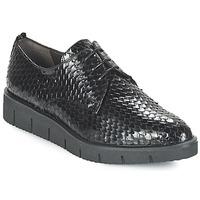 Schoenen Dames Derby Perlato MEQUINI Zwart