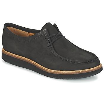 Schoenen Dames Derby Clarks GLICK BAYVIEW Zwart