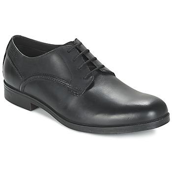 Schoenen Heren Derby Clarks BROCTON WALK Zwart