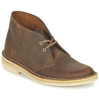 Schoenen Dames Laarzen Clarks DESERT BOOT Bruin