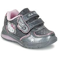 Schoenen Meisjes Lage sneakers Hello Kitty FANELY LIGHT Grijs