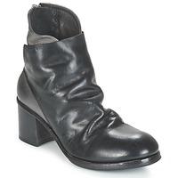 Schoenen Dames Enkellaarzen Moma BOLIO Zwart