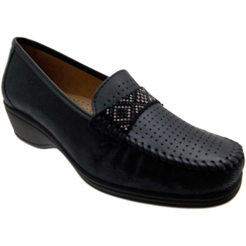 Schoenen Dames Mocassins Calzaturificio Loren LOK3955bl blu