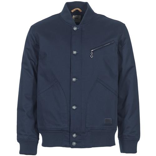 Textiel Heren Wind jackets Lee BOMBER JCKT Marine
