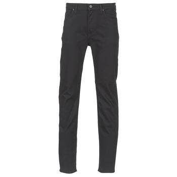 Textiel Heren Straight jeans Lee RIDER Zwart