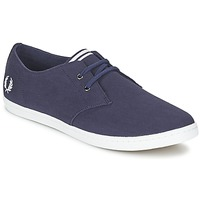 Schoenen Heren Lage sneakers Fred Perry BYRON LOW TWILL Marine
