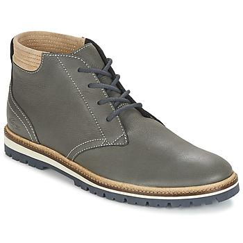 Schoenen Heren Laarzen Lacoste MONTBARD CHUKKA 416 1 Grijs