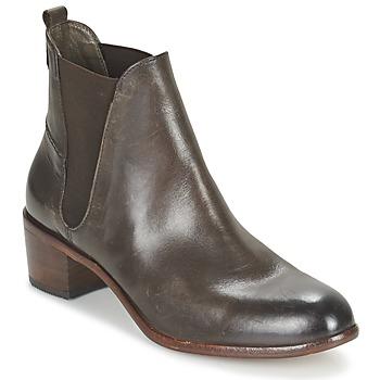 Schoenen Dames Enkellaarzen Hudson COMPUND CALF Bruin