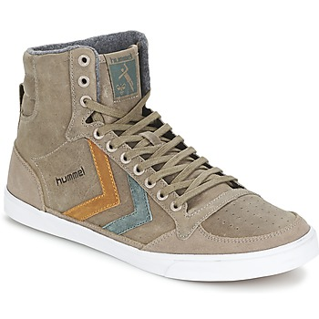 Schoenen Hoge sneakers Hummel TEN STAR DUO OILED HIGH Bruin