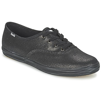 Schoenen Dames Lage sneakers Keds CH METALLIC CANVAS Zwart