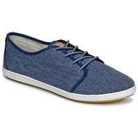 Schoenen Heren Lage sneakers Lafeyt DERBY HEAVY CANVAS Marine
