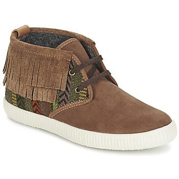 Schoenen Dames Hoge sneakers Victoria SAFARI FLECOS ANTELINA ETNIC Bruin