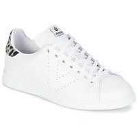 Schoenen Dames Lage sneakers Victoria DEPORTIVO BASKET PIEL Wit