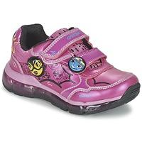 Schoenen Meisjes Lage sneakers Geox ANDROID GIRL Roze