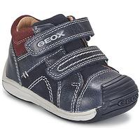 Schoenen Jongens Hoge sneakers Geox B TOLEDO BOY Blauw