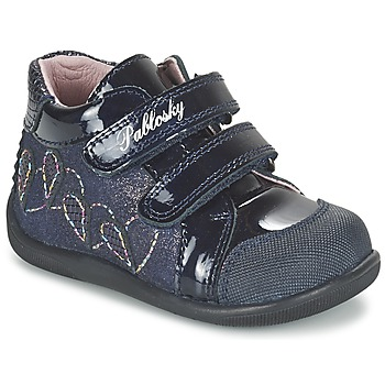 Schoenen Meisjes Hoge sneakers Pablosky VANIDELLE Marine