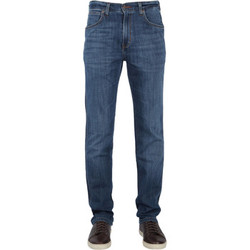 Textiel Heren Straight jeans Wrangler Arizona stretch Burst Bank blue denim Blauw