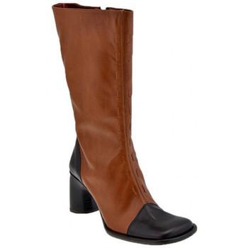 Schoenen Dames Hoge laarzen Bocci 1926  Bruin